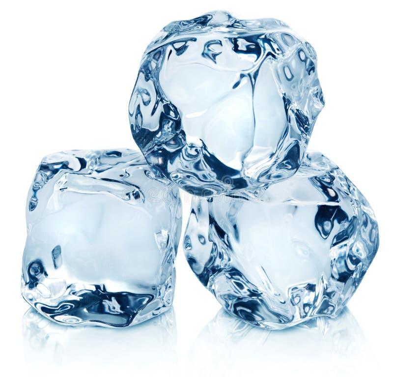 Cubos de gelo imagens de stock royalty free
