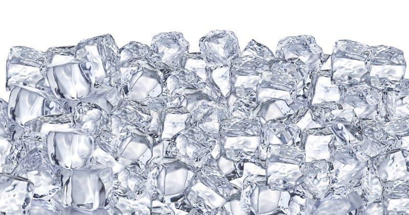 Cubos de hielo. foto de archivo