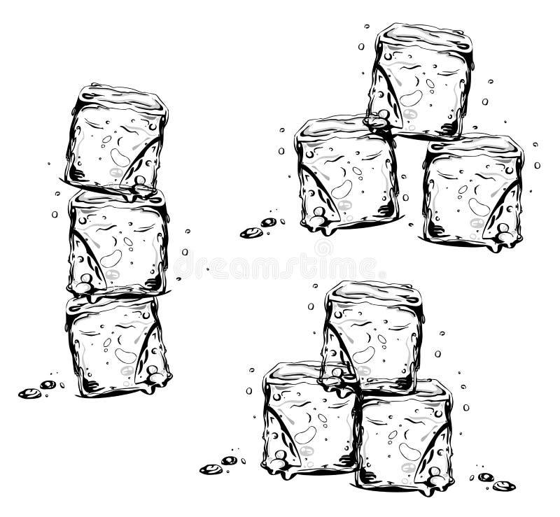 Cubos de hielo libre illustration