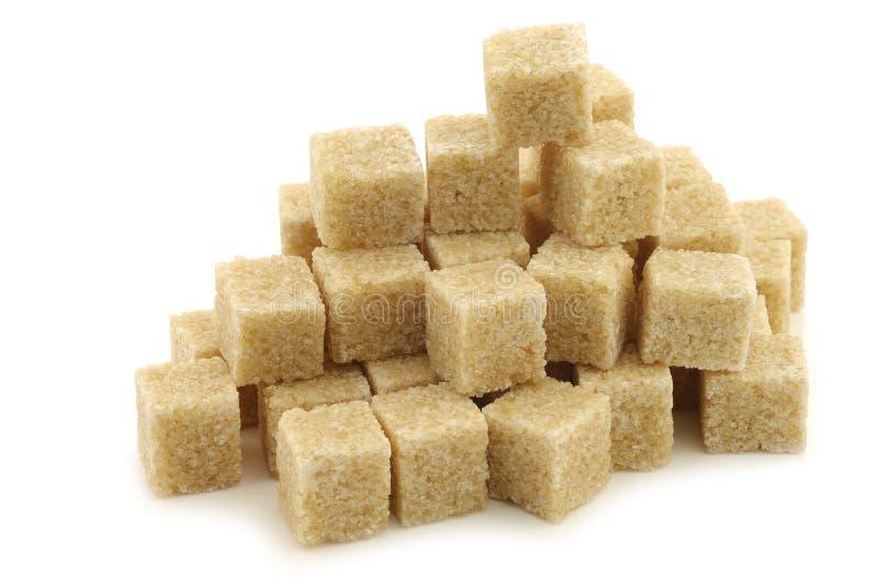 Cubos de la caña de azúcar fotos de archivo