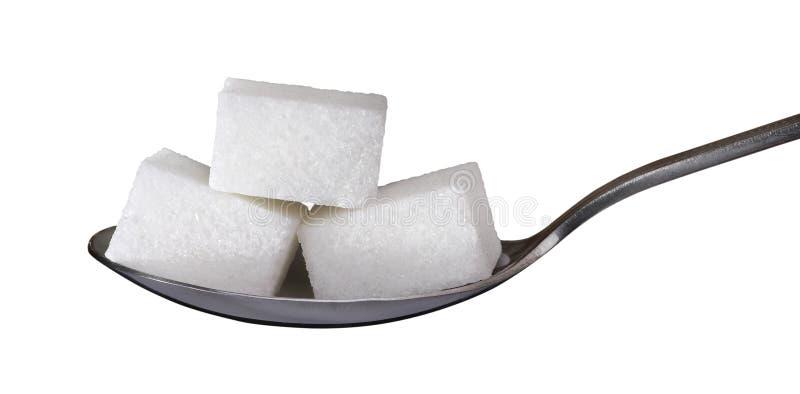 Cubos del azúcar imagen de archivo