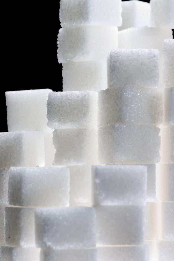 Download Cubos do açúcar imagem de stock. Imagem de lighting, alimento - 528539
