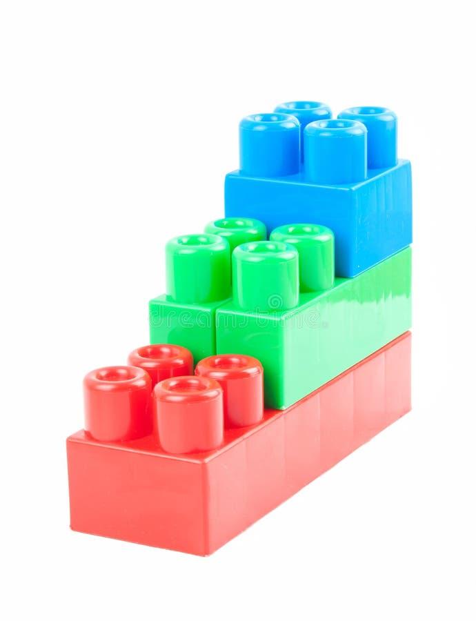 Cubos do brinquedo imagem de stock
