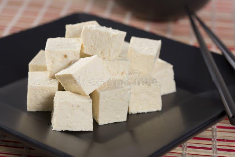 Download Cubos do Tofu imagem de stock. Imagem de tofu, chopped - 12805927