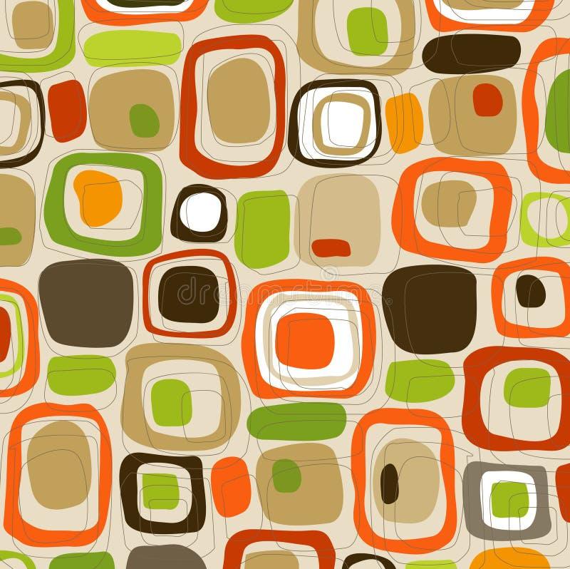 Cubos retros del caramelo (vector) ilustración del vector