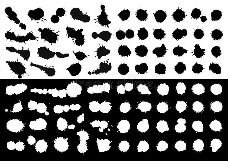 Cubra borrões ilustração do vetor