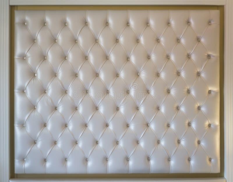 Cubra la tapicería con cuero foto de archivo libre de regalías
