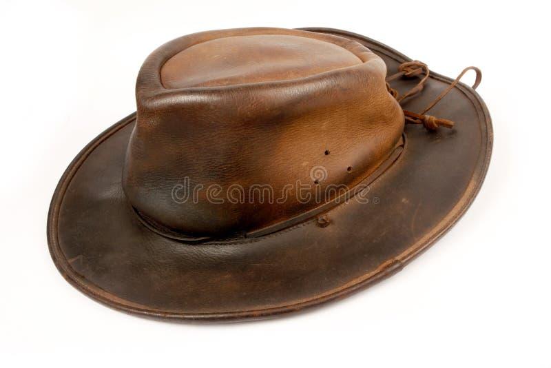 Cubra o chapéu de cowboy foto de stock