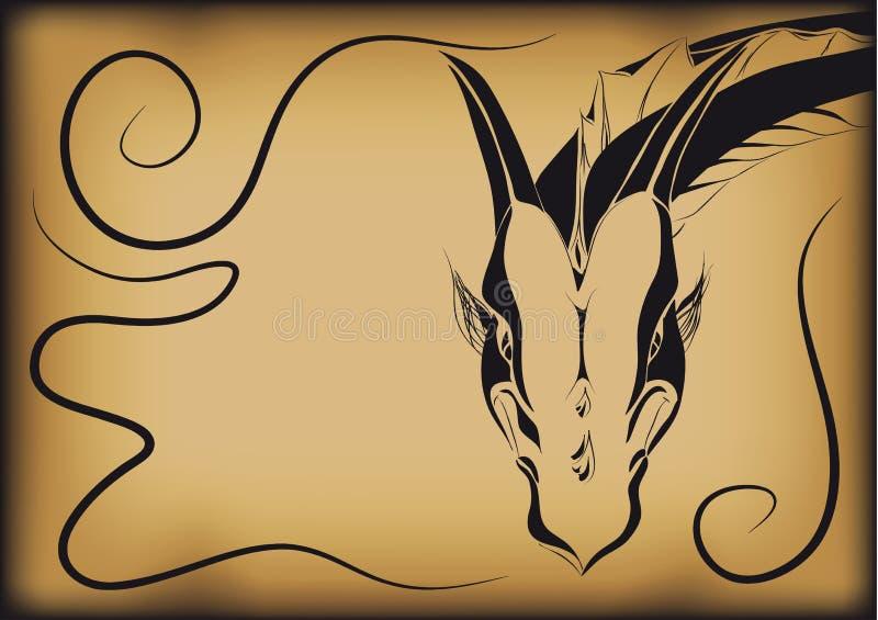 Cubra o dragão fotos de stock
