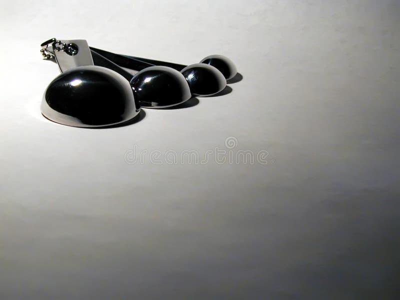 Cucchiai Invertiti E Strombati Fotografia Stock