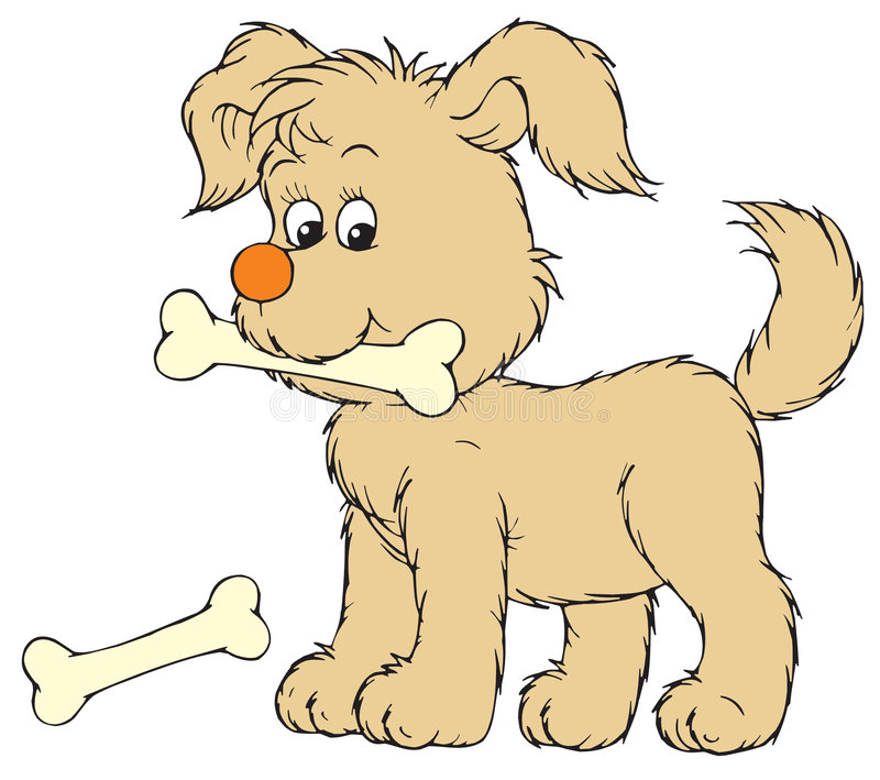 Cucciolo (clip-arte di vettore) illustrazione vettoriale