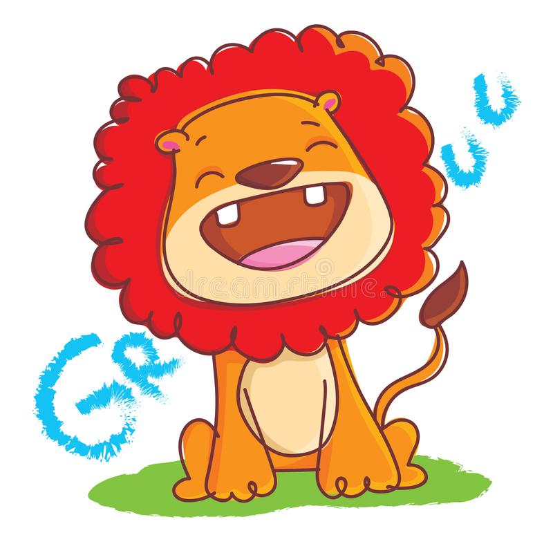 Cucciolo del leone fotografia stock libera da diritti