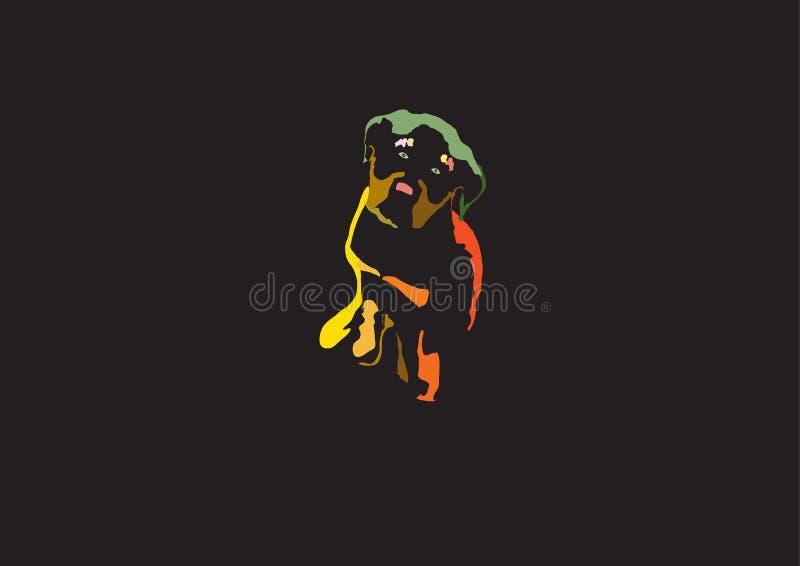 Cucciolo grazioso fotografie stock