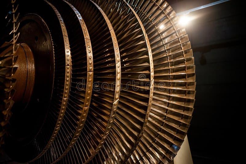 Cuchillas de rotor del generador fotos de archivo libres de regalías