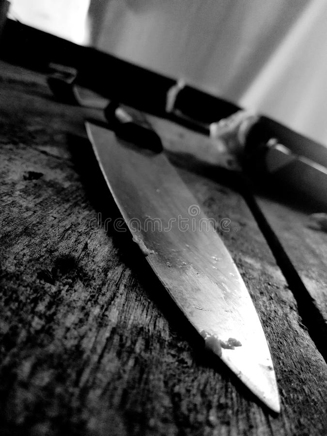 Cuchillo foto de archivo