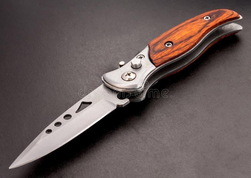 Cuchillo de bolsillo. imagen de archivo libre de regalías