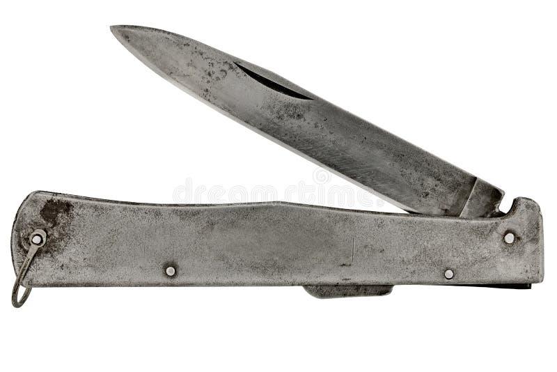 Cuchillo de bolsillo de Vintagr foto de archivo