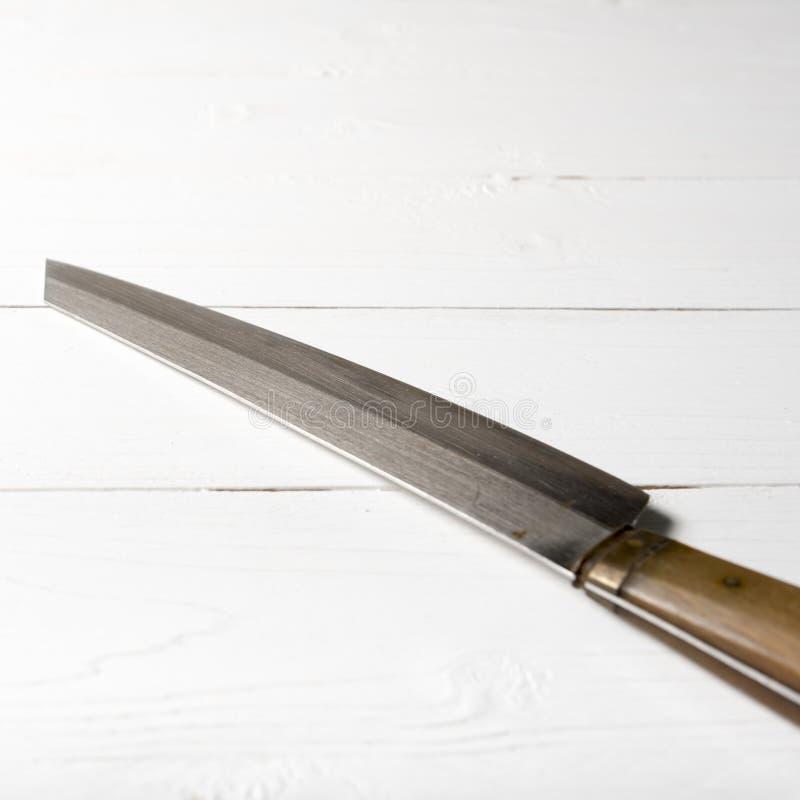 Cuchillo de cocina fotografía de archivo