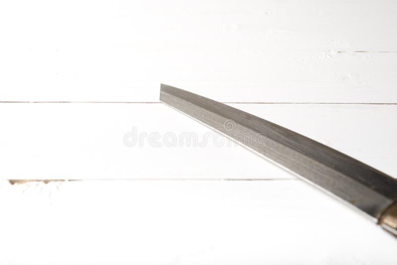 Cuchillo de cocina imagen de archivo