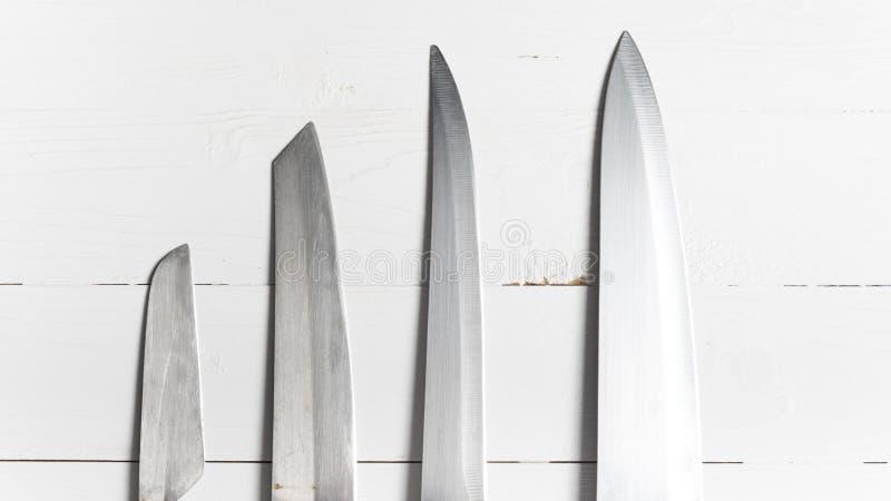 Cuchillo de cocina foto de archivo libre de regalías