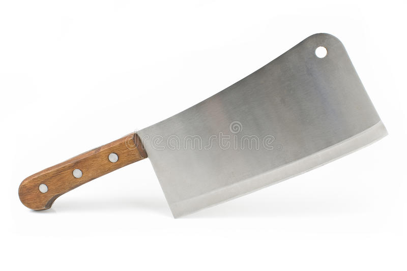 Cuchillo de la cuchilla de carne imagen de archivo libre de regalías