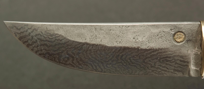 Cuchillo (lámina) imagen de archivo