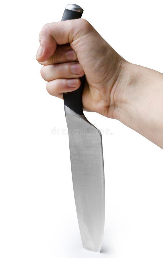 Cuchillo pegado fotos de archivo