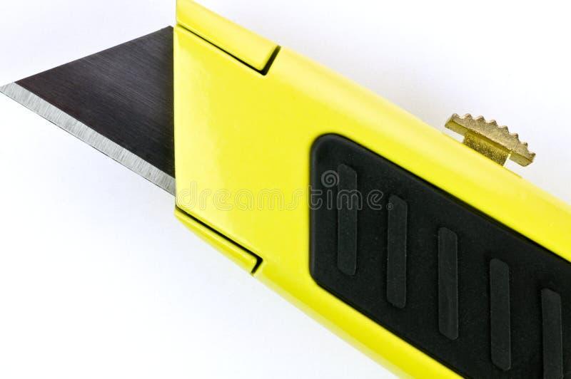 Cuchillo utilitario retractable fotos de archivo