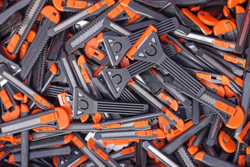 Cuchillos para uso general imagen de archivo libre de regalías