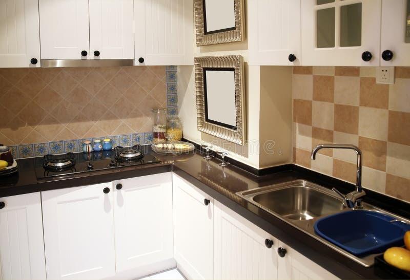 Cucina. fotografie stock libere da diritti