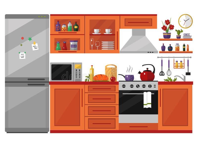 Cucina royalty illustrazione gratis
