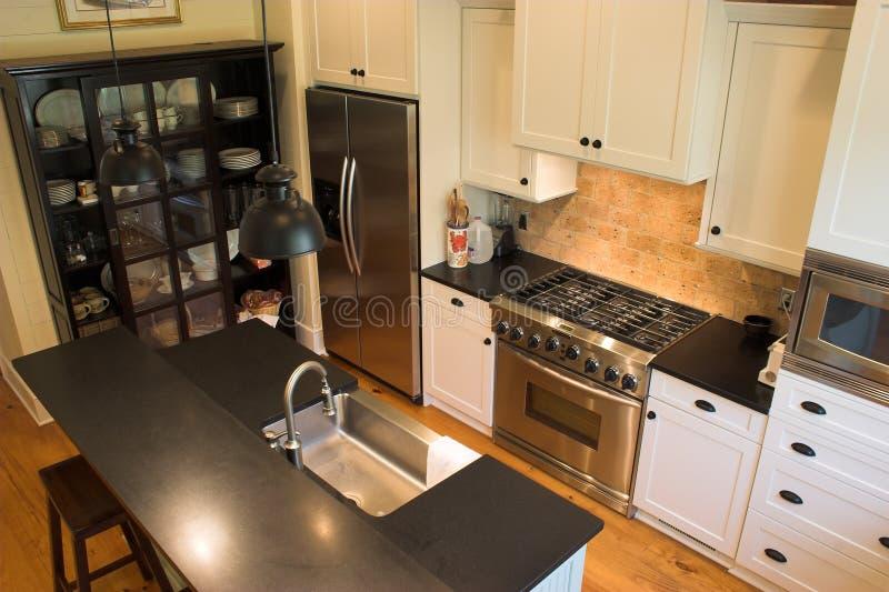 Cucina ammobiliata fotografia stock libera da diritti