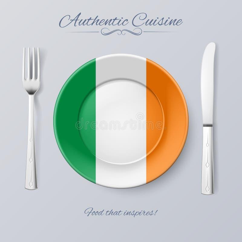Cucina autentica illustrazione vettoriale