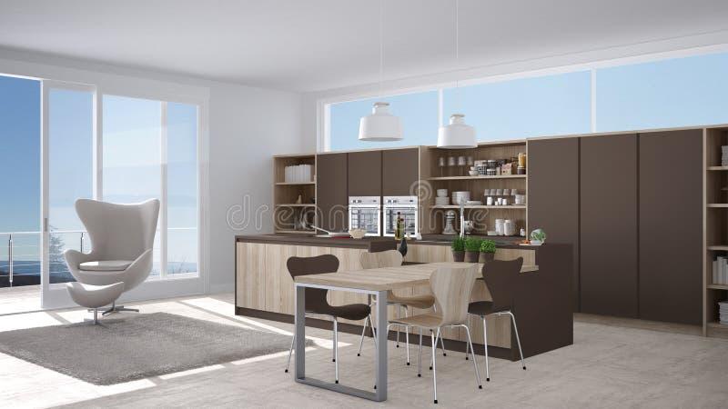 Awesome cucina bianca e marrone images - Cucina bianca e marrone ...