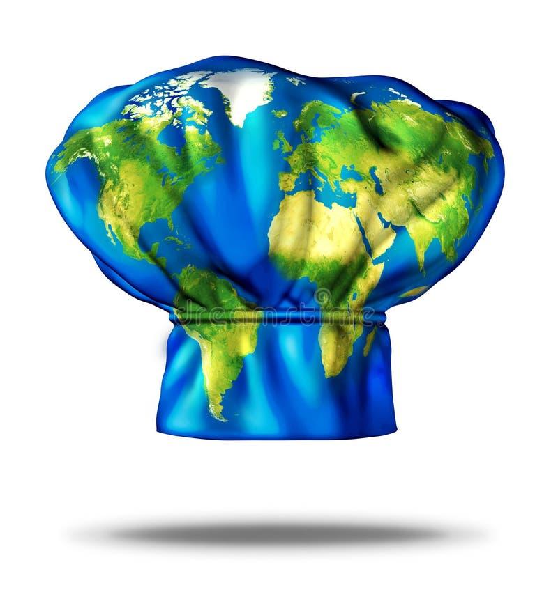 Cucina del mondo illustrazione di stock. Illustrazione di fusione ...