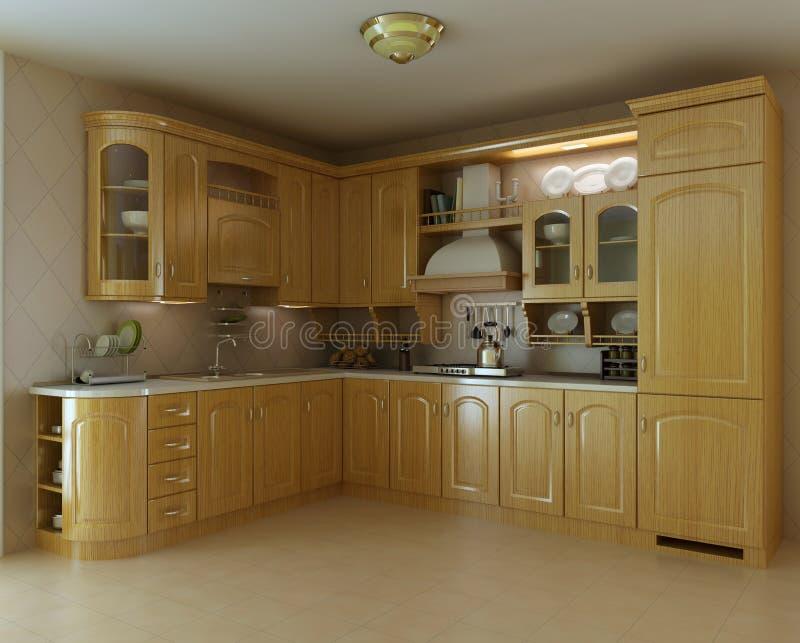 Cucina Di Lusso Classica Fotografia Stock - Immagine: 14908252