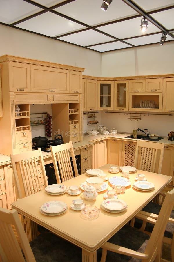 Cucina e tetto fotografia stock