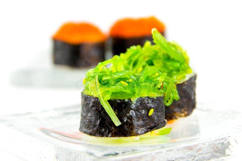 Cucina giapponese Maki Sushi immagine stock libera da diritti