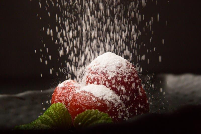 Cucina giapponese (pomodoro del riso fermentato dolce) immagini stock