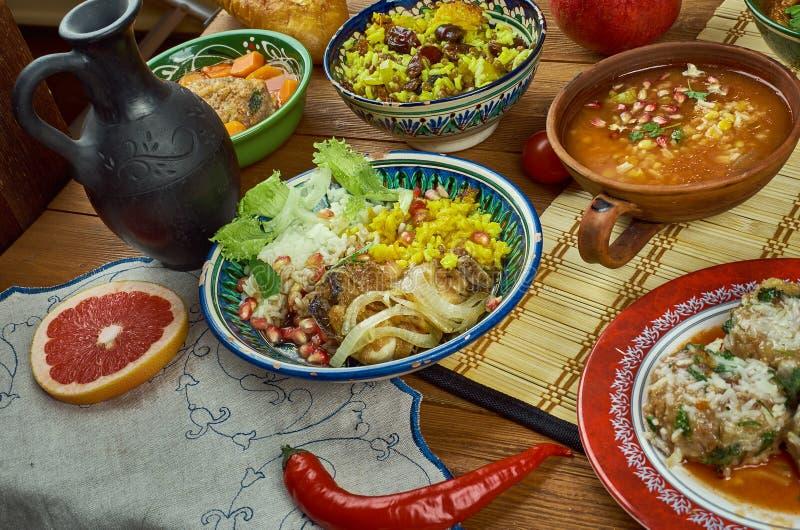 Cucina iraniana fotografia stock libera da diritti