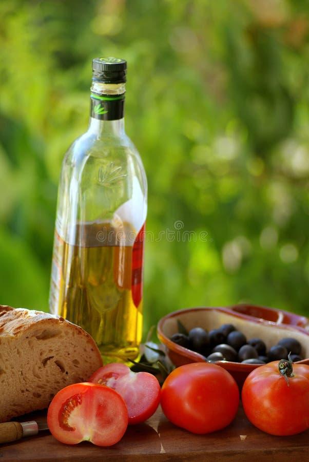 Cucina mediterranea. immagine stock