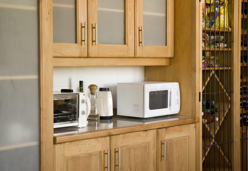 Cucina moderna immagini stock
