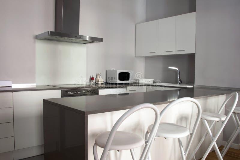 Cucina moderna fotografie stock