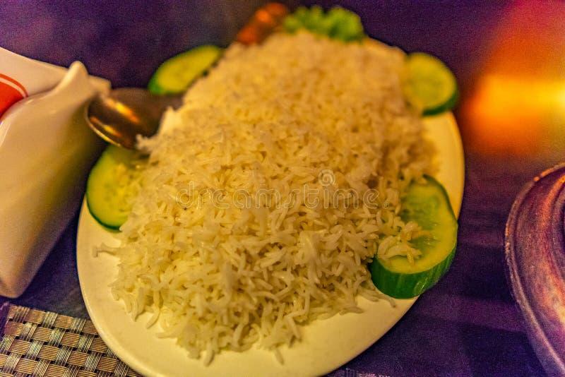 Cucina pakistana tradizionale 290 fotografia stock