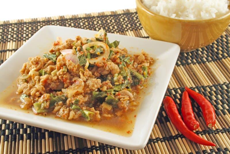 Cucina tailandese fotografia stock