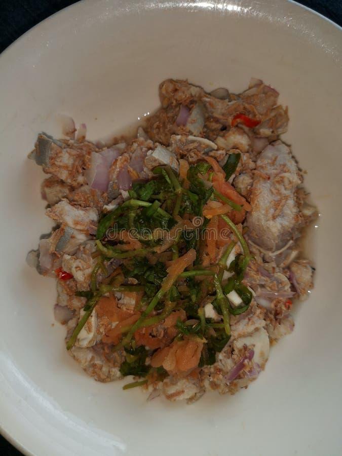 Cucina tradizionale di Kadazan in Sabah, Borneo fotografie stock