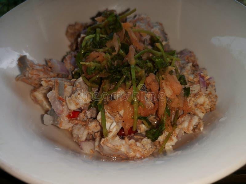 Cucina tradizionale di Kadazan in Sabah, Borneo fotografia stock