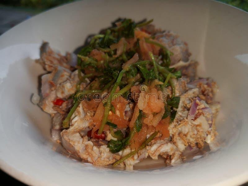 Cucina tradizionale di Kadazan in Sabah, Borneo immagini stock