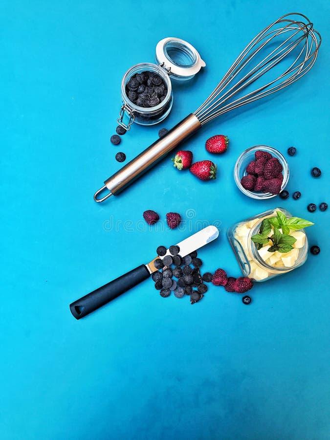 Cucinando con l'amore fotografia stock