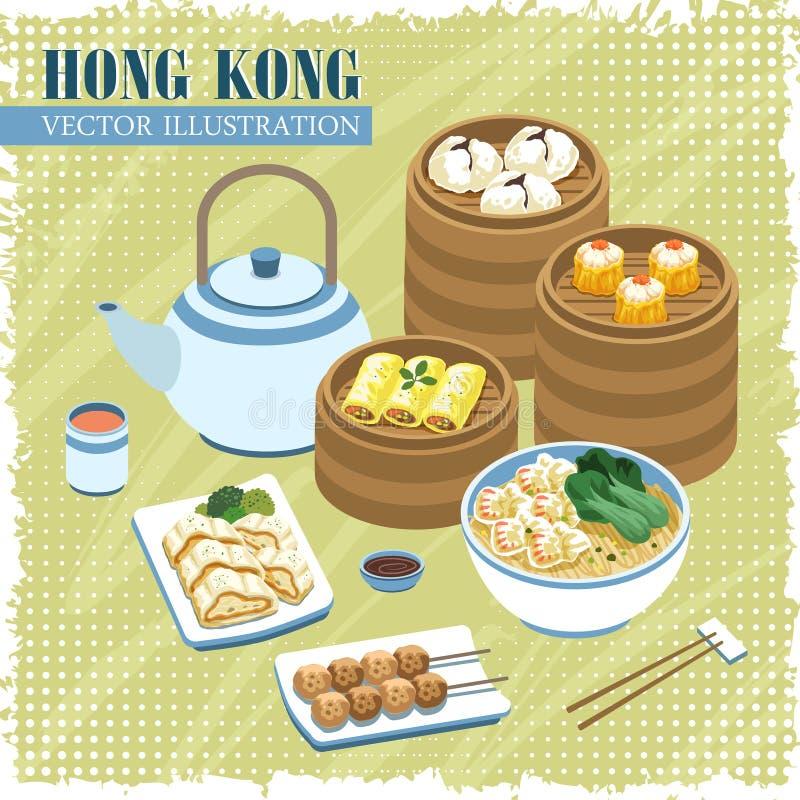 Cucine di Hong Kong royalty illustrazione gratis